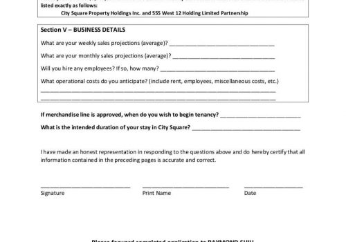 Specialty Leasing Form-4